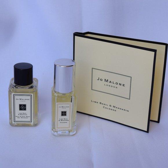 JO MALONE Lime Basil & Mandarin Gift set -3pc